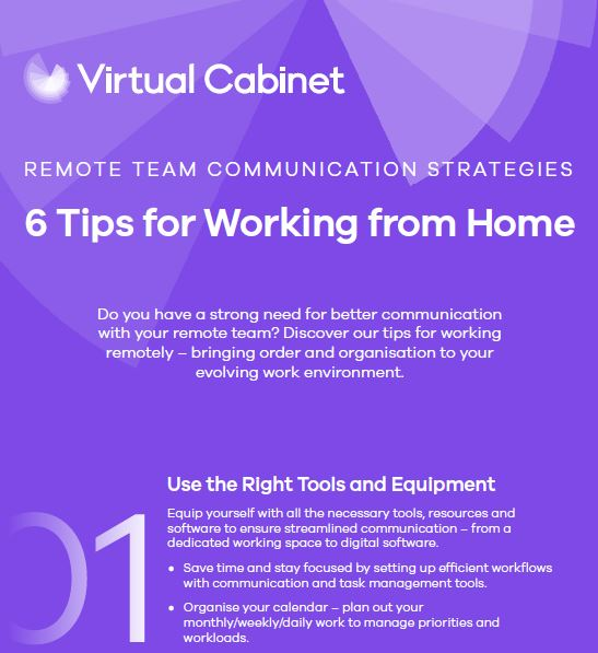 6 remote working tips